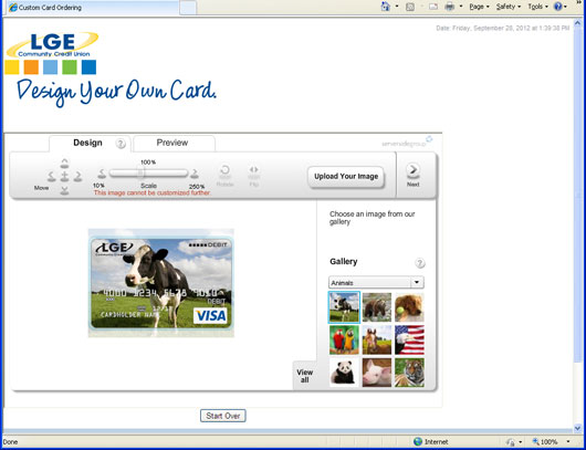 Design Your Own Card step 4 screencapture
